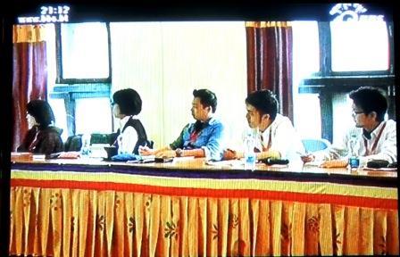 ブータンのテレビ局が取材にきました!!