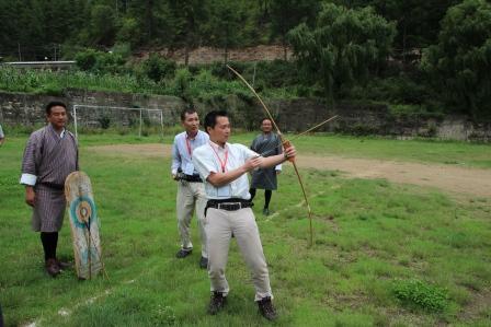 続 ブータンの研修